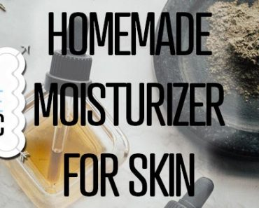 Homemade Moisturizer For Skin