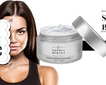 Sophia Berton Skin Cream Ingredients