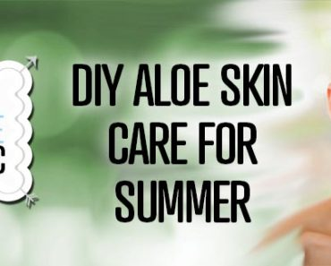 DIY Aloe Skin Care